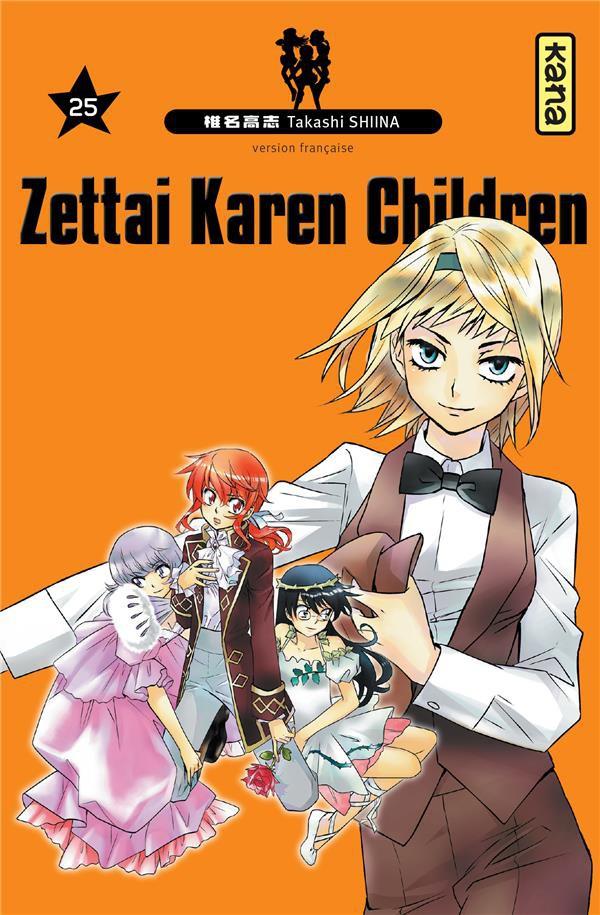 Couverture de Zettai Karen Children -25- Tome 25