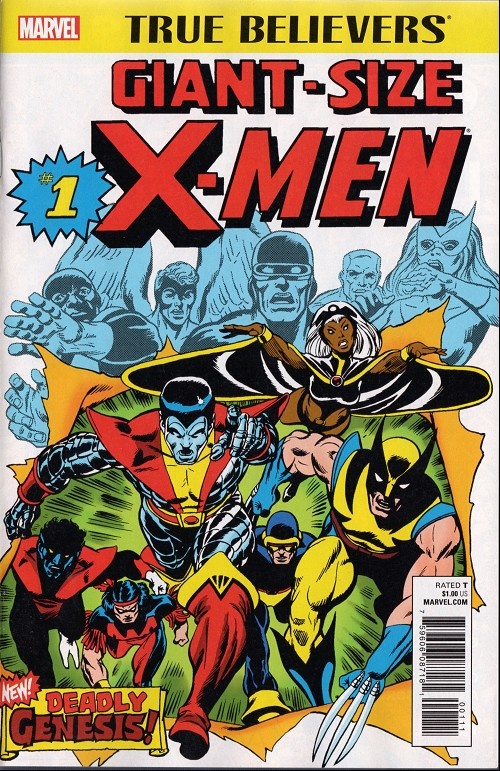 Couverture de True Believers: Giant-Size X-Men (2017) -1- Second genesis!