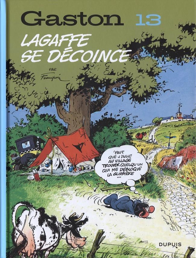 Couverture de Gaston (2017) (60°anniversaire) -13- Lagaffe se décoince