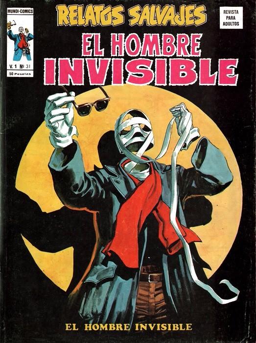 Couverture de Relatos salvages (Vol.1) -31- El hombre invisible