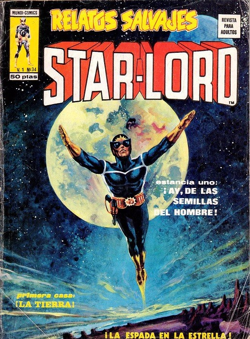 Couverture de Relatos salvages (Vol.1) -34- Star-Lord