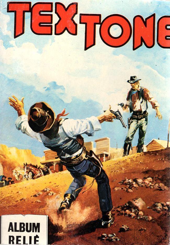 Couverture de Tex-Tone -Rec93- Album relié N°93 (du n°494 au n°497)