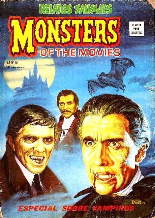Couverture de Relatos salvages (Vol.1) -46- Especial Sobre Vampiros