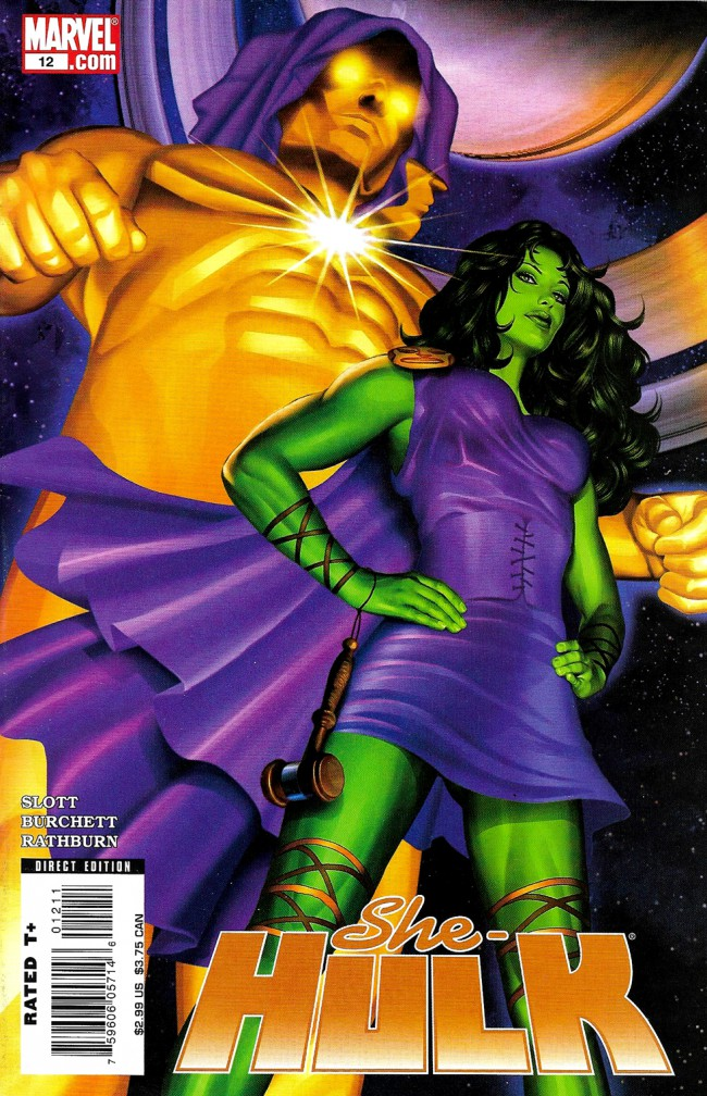 Couverture de She-Hulk (2005) -12- Remember The Titans