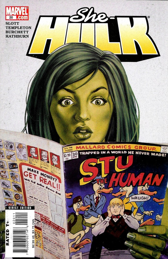 Couverture de She-Hulk (2005) -20- The Clock Is Ticking