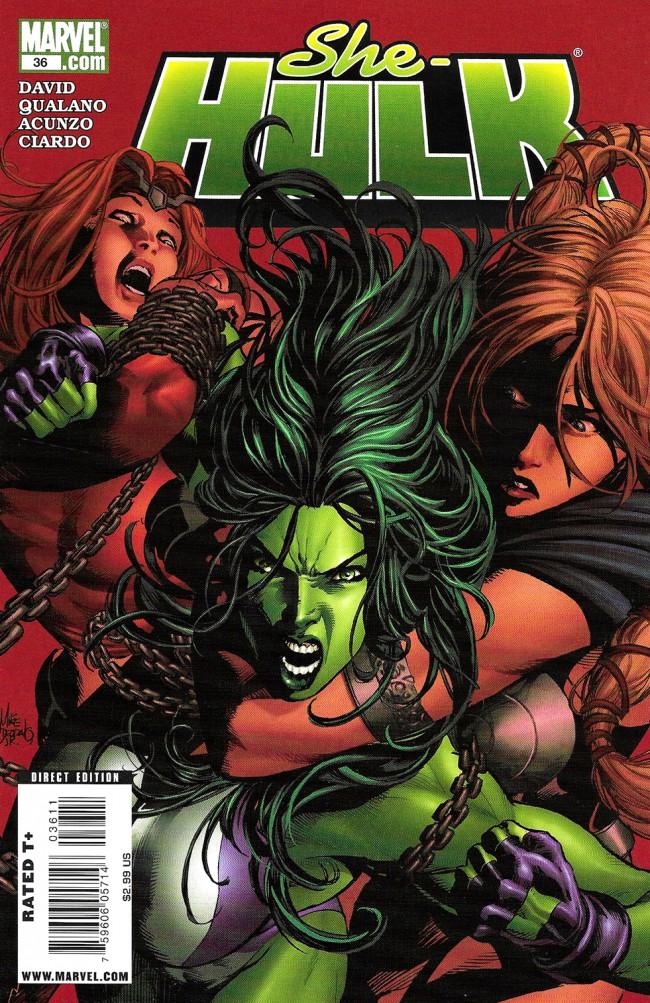Couverture de She-Hulk (2005) -36- Lady Liberators Part 3