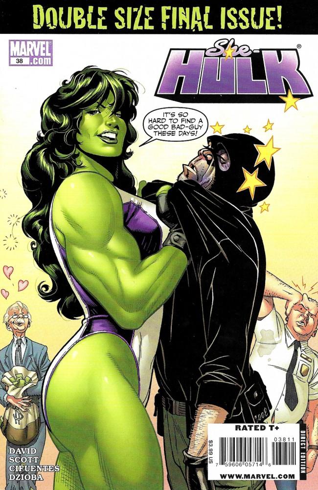 Couverture de She-Hulk (2005) -38- Heroic Proportions Part 2