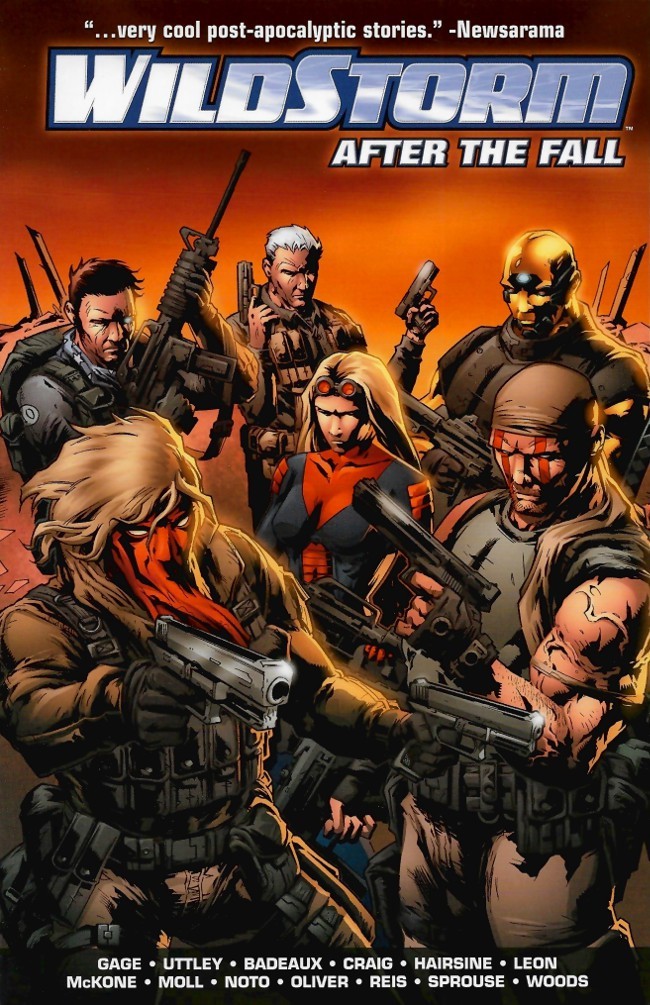 Couverture de Wildstorm: After the Fall (2010) -INT- After the Fall