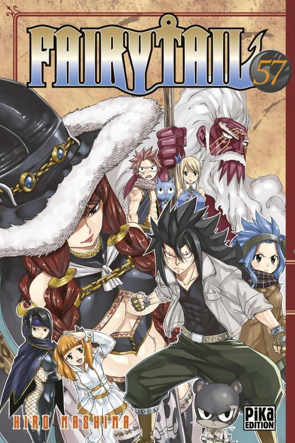 Couverture de Fairy Tail -57- Tome 57