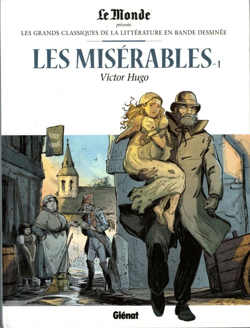Couverture de Les grands Classiques de la littérature en bande dessinée -8- Les Misérables - 1
