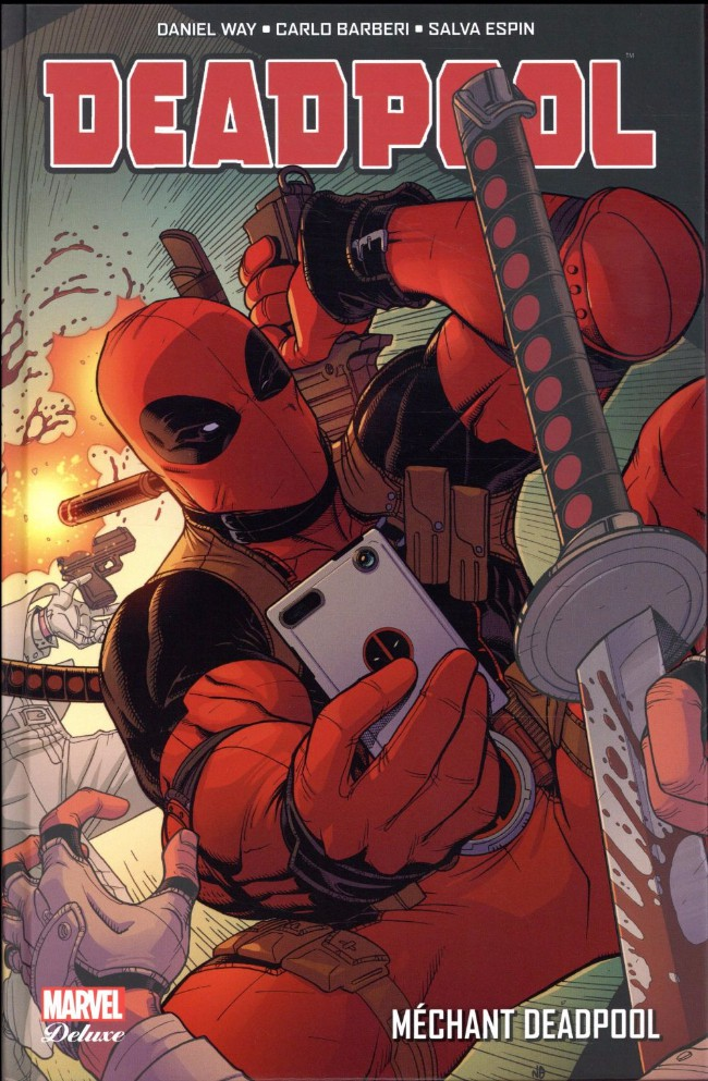 Couverture de Deadpool (Marvel Deluxe) - Méchant Deadpool