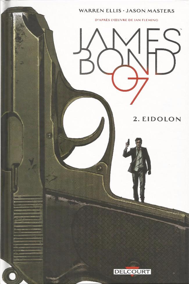 Couverture de James Bond (Delcourt) -2- Eidolon