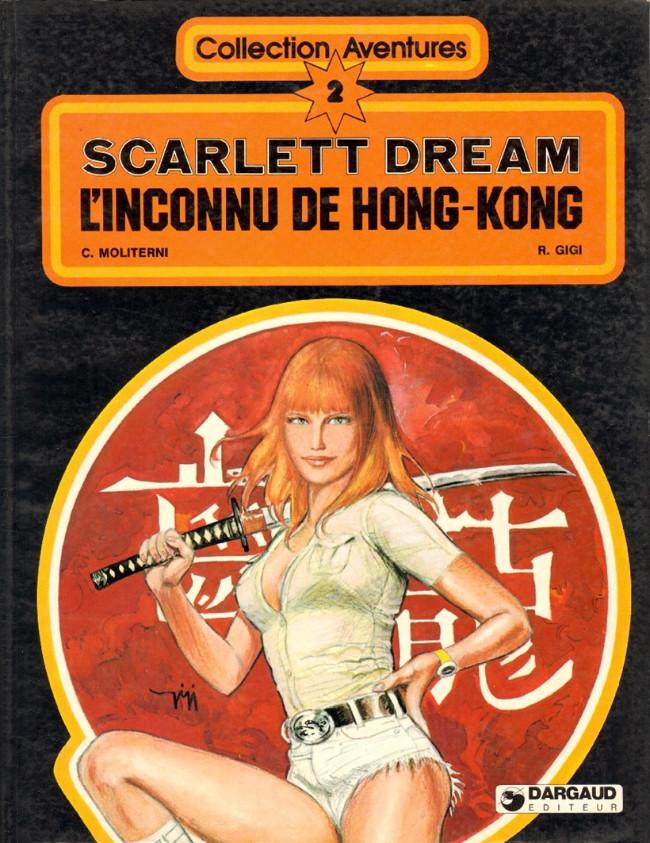 Couverture de Scarlett Dream -3- L'inconnu de Hong-Kong