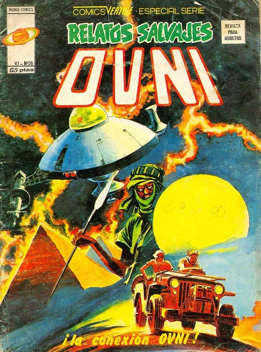 Couverture de Relatos salvages (Vol.1) -56- ¡La conexión OVNI!