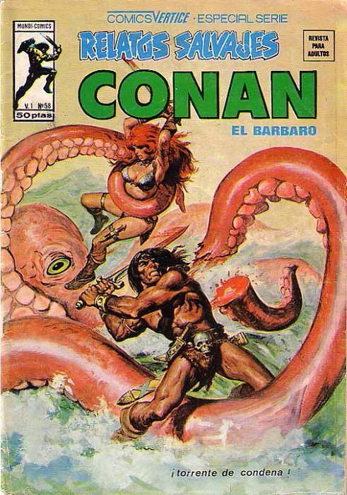 Couverture de Relatos salvages (Vol.1) -58- ¡Torrente de Condena!
