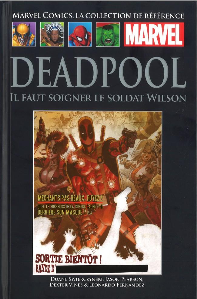 Couverture de Marvel Comics - La collection (Hachette) -8467- Deadpool - Il Faut Soigner le Soldat Wilson