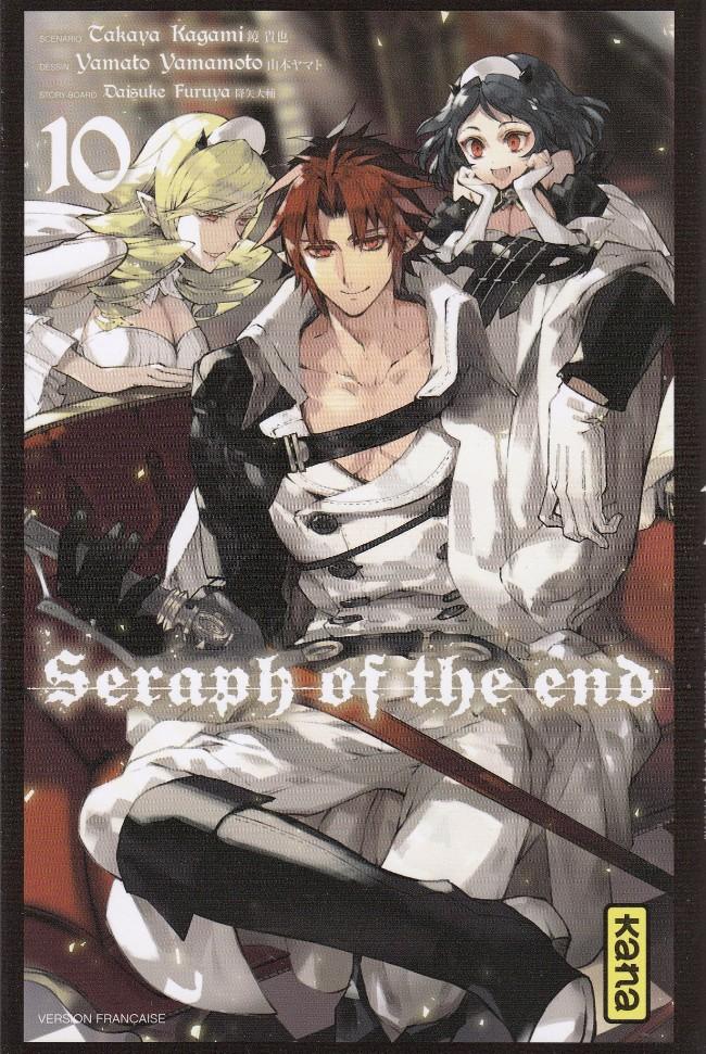 Couverture de Seraph of the End -10- Tome 10