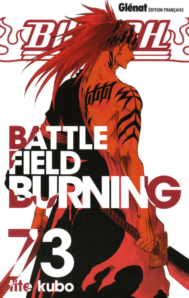 Couverture de Bleach -73- Battlefield burning