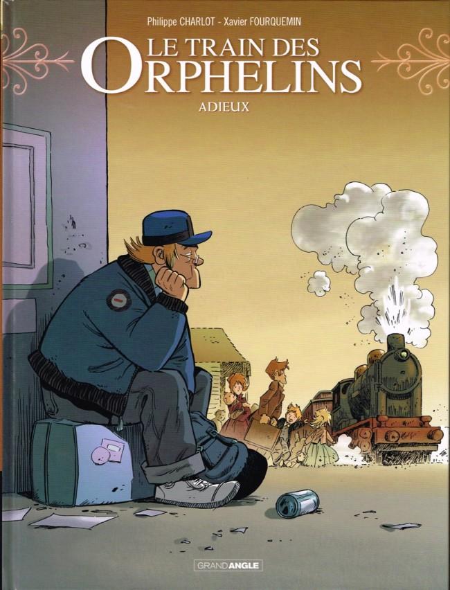 Couverture de Le train des Orphelins -8- Adieux