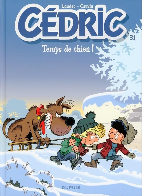 Couverture de Cédric -31- Temps de chien !