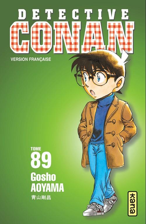 Couverture de Détective Conan -89- Tome 89