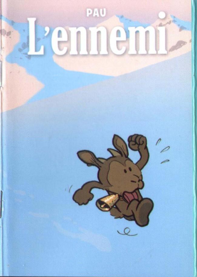 Couverture de Mini-récits et stripbooks Spirou -MR4126- L'ennemi