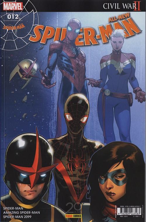 Couverture de All-New Spider-Man -12- Échange de bons procédés