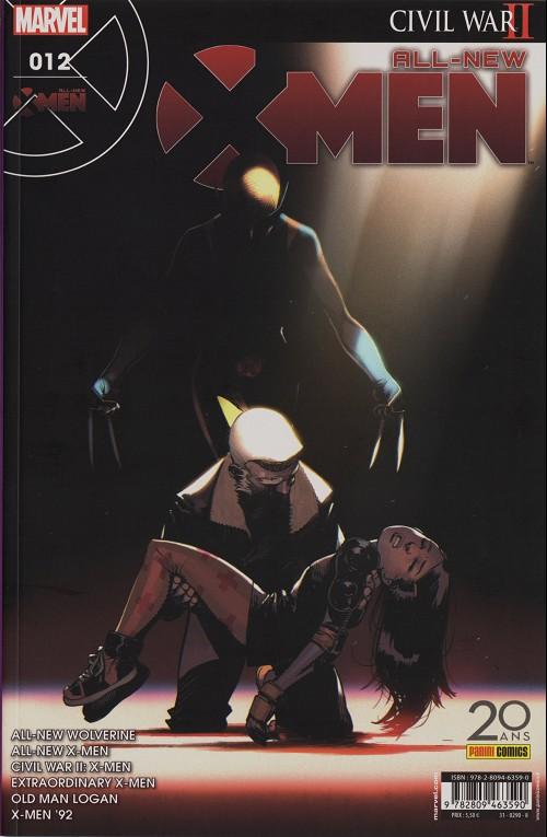 Couverture de All-New X-Men -12- Le Vieil Homme et l'enfant