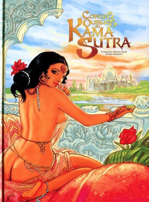 Couverture de Contes oubliés du Kama Sutra