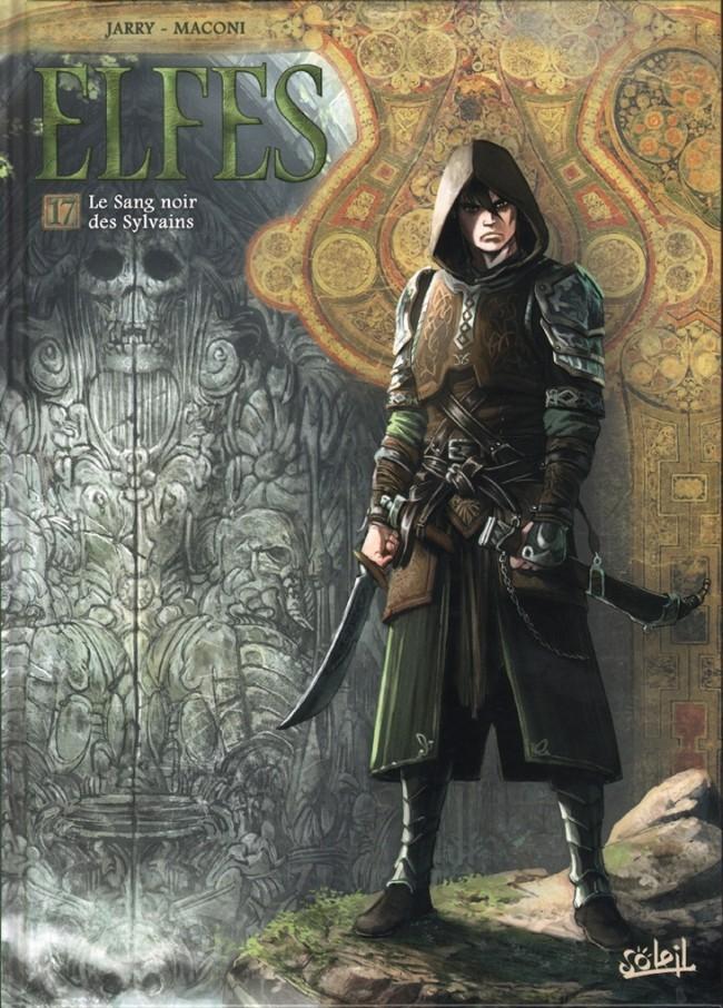 Couverture de Elfes -17- Le sang noir des Sylvains