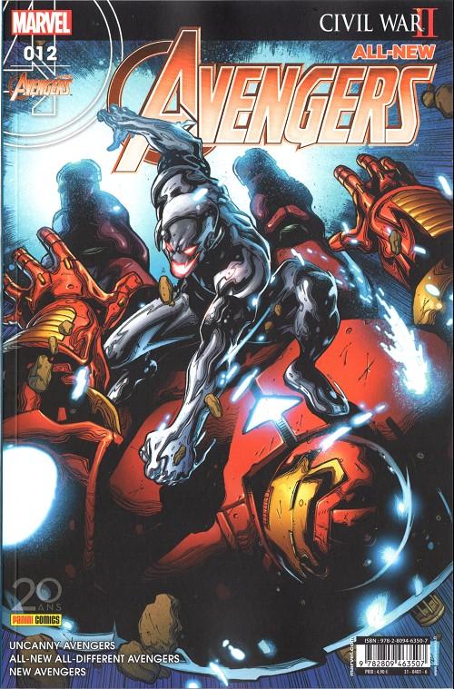 Couverture de All-New Avengers -12- Rage againt the machine