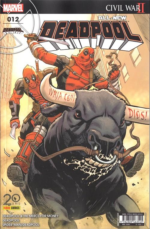 Couverture de All-New Deadpool -12- C 'est pas toi qui commande