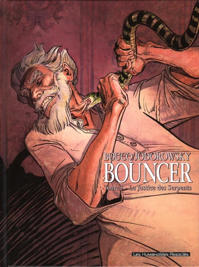 Couverture de Bouncer -3- La Justice des Serpents