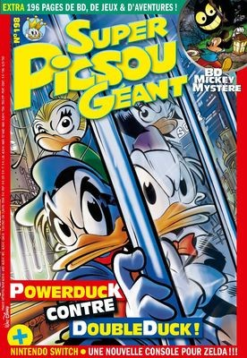 Couverture de Super Picsou Géant -198- Powerduck contre doubleduck
