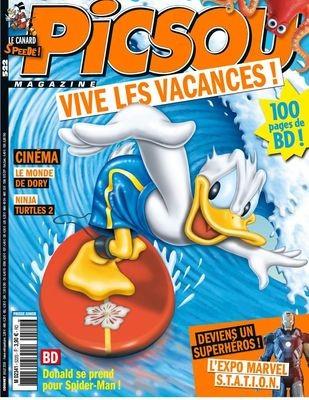 Couverture de Picsou Magazine -522- Picsou magazine n°522
