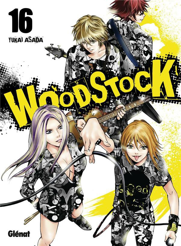 Couverture de Woodstock -16- Tome 16