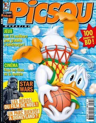 Couverture de Picsou Magazine -524- Donald maharadjah
