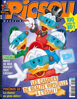 Couverture de Picsou Magazine -525- Le sherif de la vallee des balles