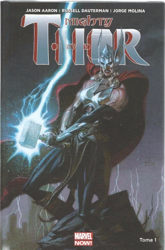 Couverture de Mighty Thor -1- La Déesse du Tonerre