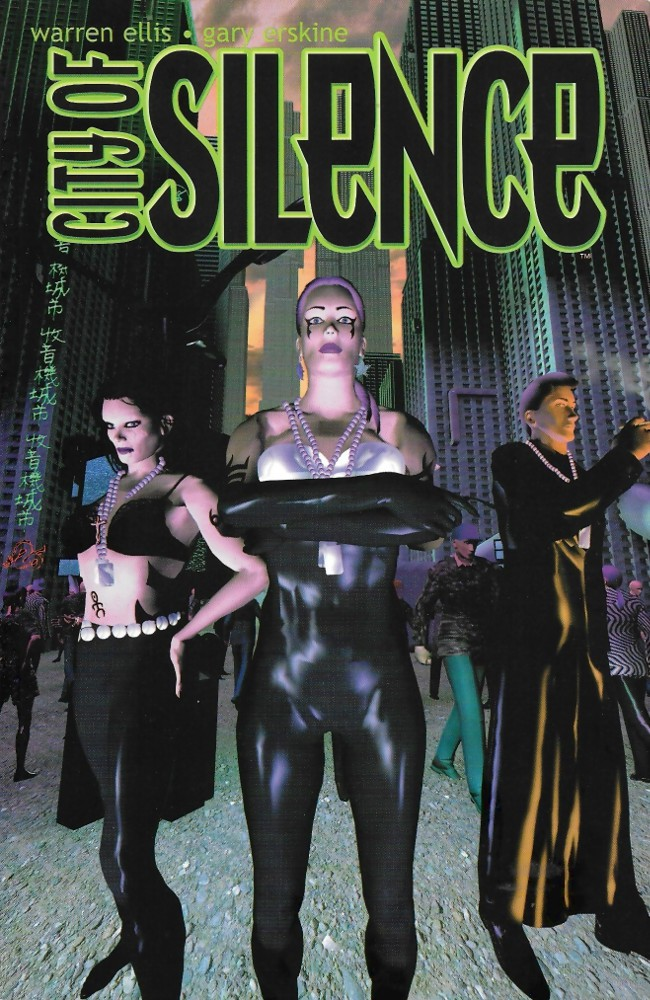Couverture de City of Silence (2000) -INT- City of Silence