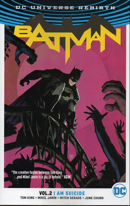 Couverture de Batman (2016) -INT02- Vol.2 I am Suicide
