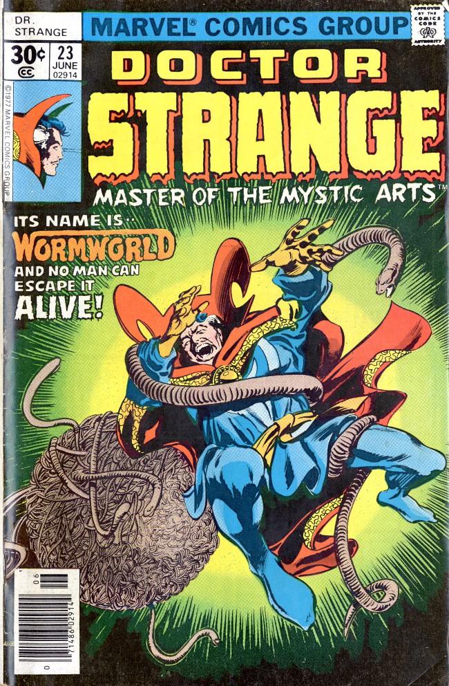 Couverture de Doctor Strange (1974) -23- Into The Quadriverse!