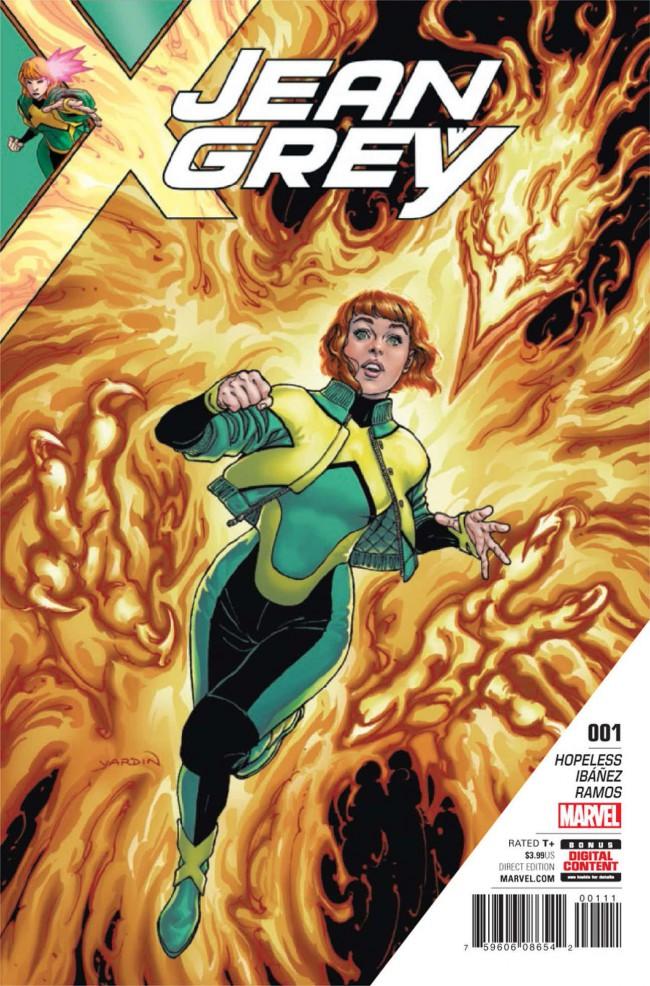 Couverture de Jean Grey (2017) -1- Issue #1