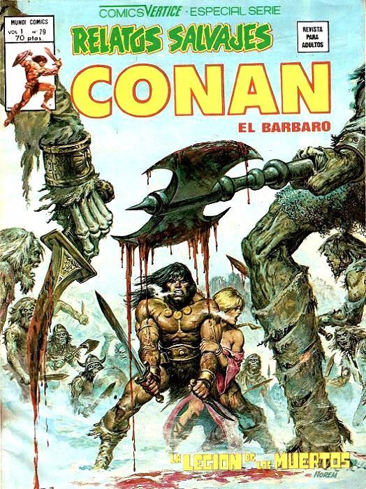 Couverture de Relatos salvages (Vol.1) -79- La Legión de los Muertos