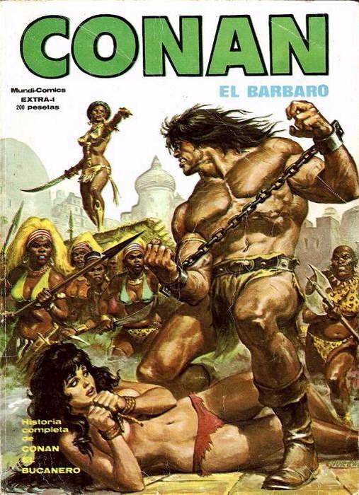 Couverture de Relatos salvages (Vol.1) -EXTRA01- Conan el Bucanero