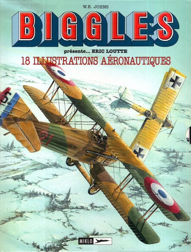 Couverture de Biggles présente... -2- 18 illustrations aéronautiques