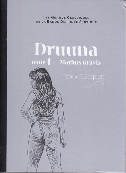 Couverture de Les grands Classiques de la Bande Dessinée érotique - La Collection -2838- Druuna - Tome 1 Morbus Gravis