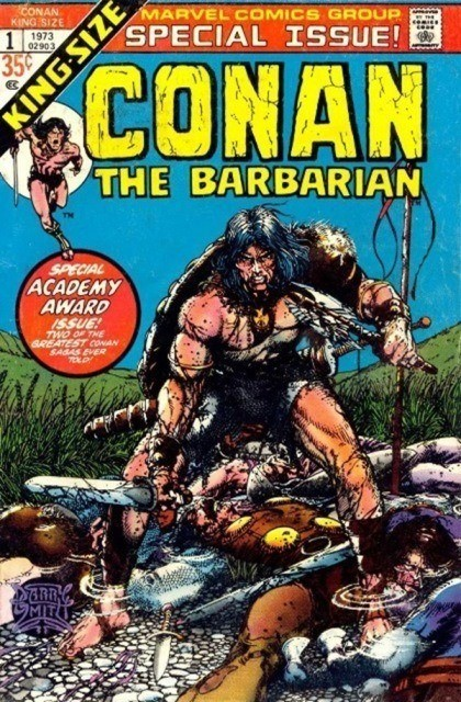 Couverture de Conan the Barbarian Vol 1 (Marvel - 1970) -AN01- Lair of the beast-men! - the tower of the elephant!
