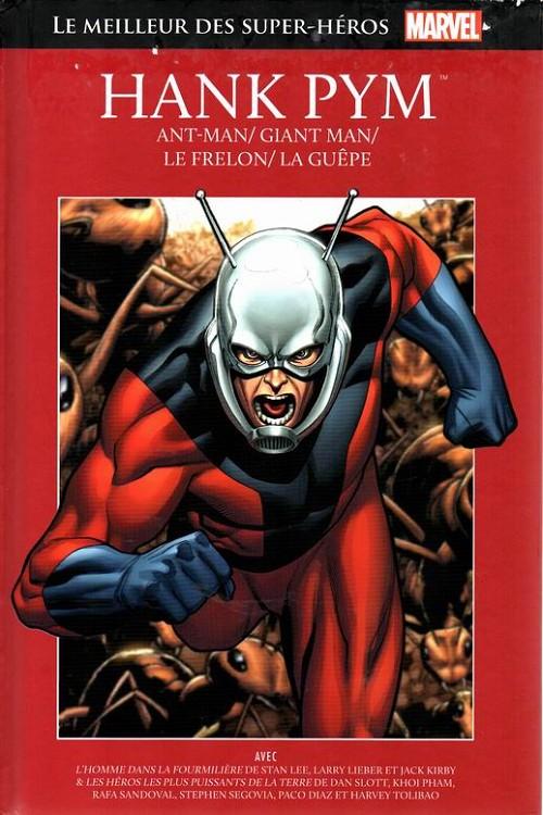 Couverture de Marvel Comics : Le meilleur des Super-Héros - La collection (Hachette) -35- Hank pym