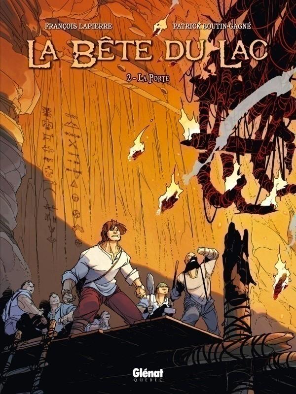 Couverture de La bête du Lac (Le Mangeur d'Âmes) -2- La Porte